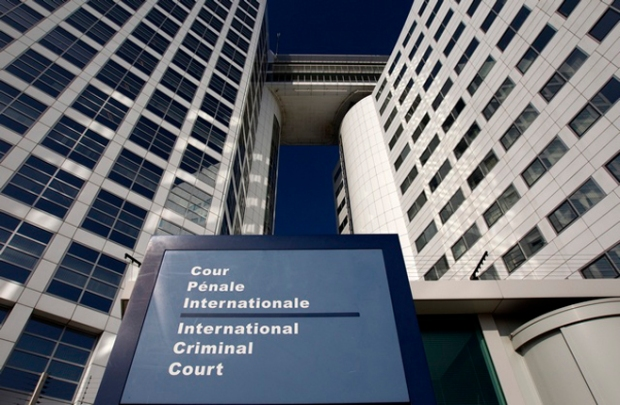 The entrance of the ICC at The Hague. REUTERS/Jerry Lampen