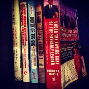 Currently on my bookshelf